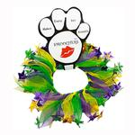 View Image 1 of Mardi Gras Smoochers Pet Scrunchie