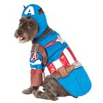 View Image 1 of Marvel Deluxe Captain America Dog Costume