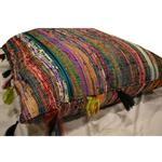 View Image 3 of Maximus Natural Silk Dog Bed - Fleurs