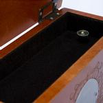 View Image 4 of Memorial Pet Urn Memory Box - Chestnut