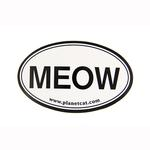View Image 1 of Meow Euro Sticker by Planet Dog