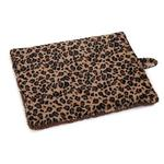 View Image 3 of Meow Town ThermaPet Cat Mat - Brown Leopard