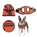 View Image 1 of Mesh Soft Harness Vest by Puppia - Orange