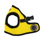 View Image 1 of Mesh Soft Harness Vest by Puppia - Yellow