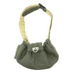 View Image 2 of Messenger Bag Dog Carrier by Dogo - Green