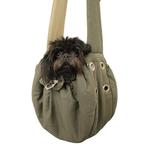 View Image 1 of Messenger Bag Dog Carrier by Dogo - Green
