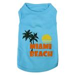 View Image 1 of Miami Beach Dog Tank by Parisian Pet