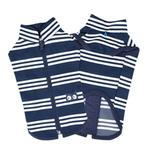View Image 1 of Mies Vest Cat Shirt by Catspia - Navy