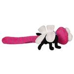 View Image 3 of Mighty Bug Dog Toy - Ditzy the Dragonfly - Pink