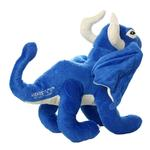 View Image 3 of Mighty Dragon Dog Toy - Blue