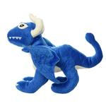View Image 4 of Mighty Dragon Dog Toy - Blue