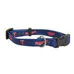 View Image 1 of Minnesota Twins Baseball Printed Dog Collar