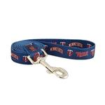 View Image 1 of Minnesota Twins Baseball Printed Dog Leash