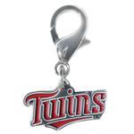 View Image 1 of Minnesota Twins Logo Dog Collar Charm
