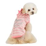 View Image 5 of Mamours Dog Hoodie by Pinkaholic - Indian Pink