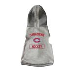 View Image 1 of Montreal Canadiens Crewneck Dog Hoodie - Gray