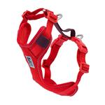 View Image 1 of Moto Control Dog Harness - Goji Berry/Burgundy