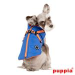 View Image 2 of Mountaineer II Fleece Dog Vest by Puppia - Royal Blue