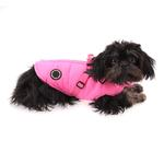 View Image 4 of Mountaineer Harness Dog Coat by Puppia - Pink