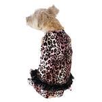 View Image 1 of Movie Star Tutu Velvet Dog Dress - Pink Leopard