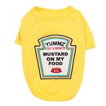 View Image 1 of Mustard Licker Dog Costume Shirt