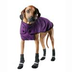 View Image 1 of Muttluks Belted Dog Coat - Purple