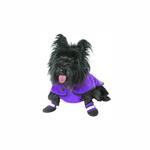 View Image 3 of Muttluks Belted Dog Coat - Purple