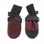 View Image 1 of Muttluks Woof Walkers Dog Boots - Burgundy