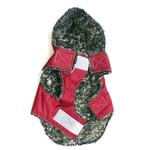 View Image 2 of My Canine Kids Precision Fit Extreme Element Dog Parka - Wine
