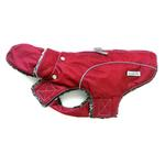 View Image 1 of My Canine Kids Precision Fit Extreme Element Dog Parka - Wine