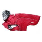 View Image 3 of My Canine Kids Precision Fit Extreme Element Dog Parka - Wine