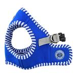View Image 2 of Naunet Vest Style Dog Harness by Puppia - Blue
