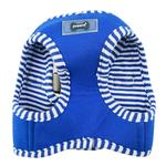 View Image 3 of Naunet Vest Style Dog Harness by Puppia - Blue