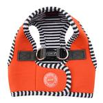 View Image 1 of Naunet Vest Style Dog Harness by Puppia - Orange