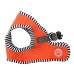 View Image 2 of Naunet Vest Style Dog Harness by Puppia - Orange