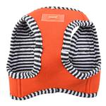 View Image 3 of Naunet Vest Style Dog Harness by Puppia - Orange