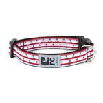 View Image 1 of Nautical Adjustable Clip Dog Collar By RC Pet