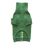 View Image 4 of Rainbow Button Dog Sweater by Beverly Hills Dog - Green