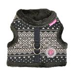 View Image 1 of Neige Pinka Dog Harness by Pinkaholic - Charcoal Gray