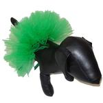 View Image 2 of Green Tulle Dog Tutu by Pawpatu