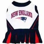 View Image 1 of New England Patriots Cheerleader Dog Dress