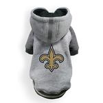 View Image 1 of New Orleans Saints NFL Dog Hoodie - Gray
