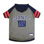 View Image 1 of New York Giants Hooded Dog T-Shirt