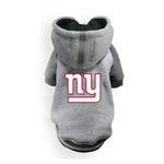 View Image 1 of New York Giants NFL Dog Hoodie - Gray