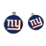 View Image 2 of New York Giants Team Camo Dog Collar and Tag by Yellow Dog