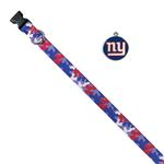 View Image 1 of New York Giants Team Camo Dog Collar and Tag by Yellow Dog