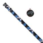 View Image 1 of Carolina Panthers Team Camo Dog Collar and Tag by Yellow Dog
