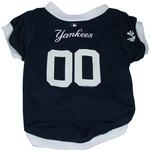 View Image 1 of New York Yankees Baseball Dog Jersey