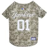 View Image 1 of New York Yankees Dog Jersey - Camo
