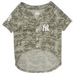 View Image 2 of New York Yankees Dog Jersey - Camo